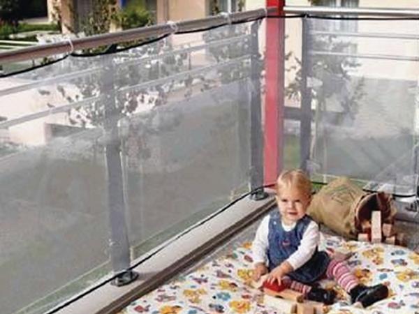 Gyerekvédő hálók, rácsok