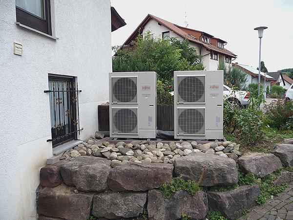 Előre törnek a levegő-víz hőszivattyúk