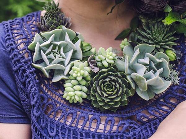 Ékszerek növényekből