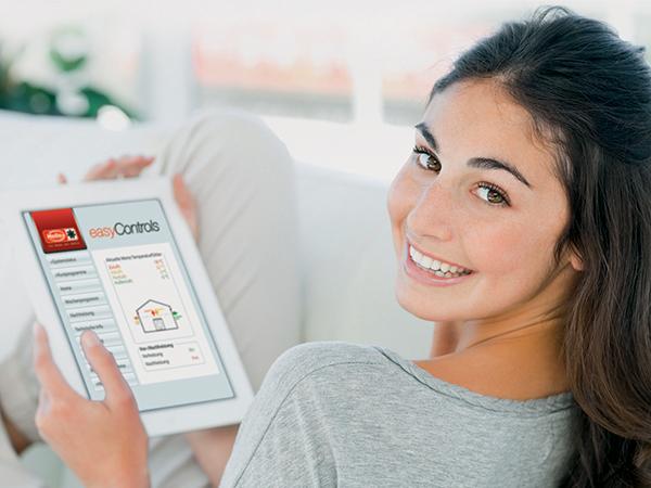 Szellőztetés vezérlése laptopról, tabletről, okostelefonról