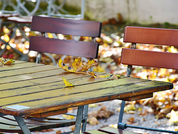 Kerti bútorok téli védelme