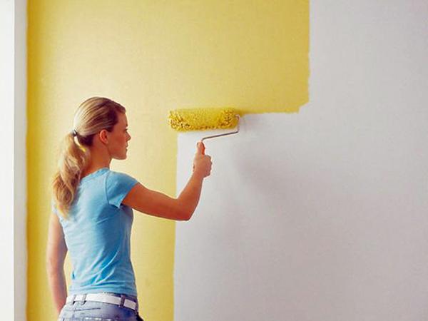 Festett falak felújítása