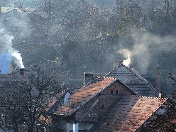 A lakossági tüzelés felel a légszennyezettségért