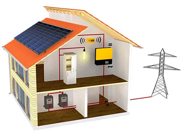 Saját napelem az elektromos hálózatban