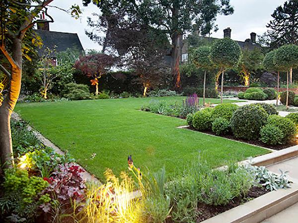 A kertek berendezésének menete