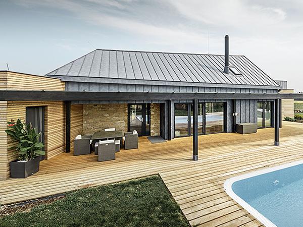 Alumínium tető a környezetvédelemért