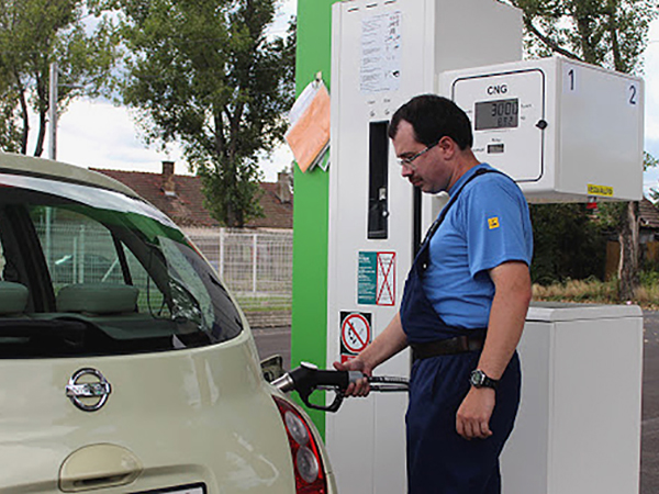 Autók gázüzemmel