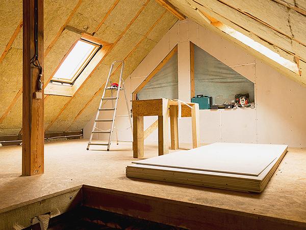 Tetőtér-beépítés és hőszigetelés