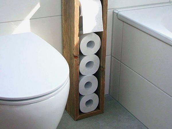 Tárolók WC-be