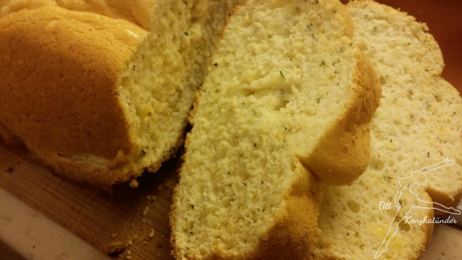 Gluténmentes, low carb kenyér