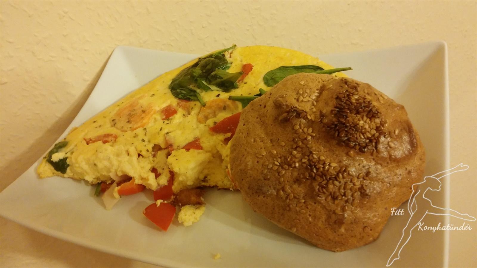 Túrós omlett