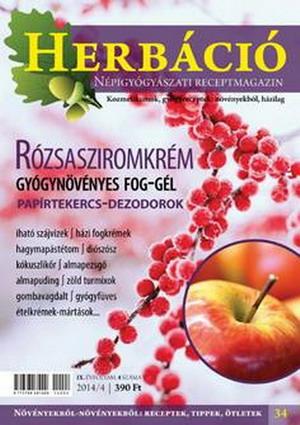 Megjelent a Herbáció legújabb, 34. száma!