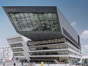 A bécsi Könyvtár és Tanulóközpont épülete