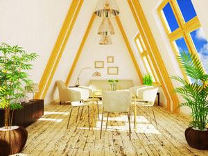 Nyári-téli tetőtéri komfort