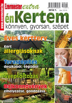 Ezermester Extra 2014/1. énKertem: kert és terasz